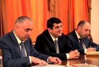 Араик Арутюнян принял духовного наставника  армянской общины округа Германии Баден-Вьюртенберг