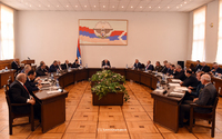 The Government session took place chaired by Bako Sahakyan