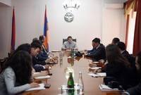 Arayik Harutyunyan received a group of AGBU organization representatives  of Europe.