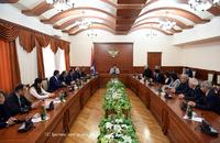 Արայիկ Հարությունյանն ընդունել է Հայաստանի ազգային պոլիտեխնիկական համալսարանի պատվիրակությանը