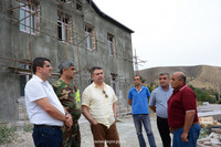 The AR and RA prime ministers got acquainted with the restoration works of Talish
