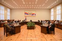 "Arayik Harutyunyan received a group of benefactors of ""Hayastan"" All- Armenian Fund"