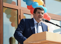 Arayik Harutyunyan participated in the opening ceremony of a new kindergarten in Noragyugh