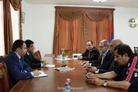 Arayik Harutyunyan received the delegation of the Armenian community of Toronto