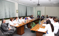 Consultation with medical staff of the Republican Medical Center