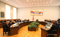 President Sahakyan chaired the first in 2018 meeting of the Cabinet