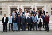 Հանդիպում Հայաստանի բասկետբոլի տղամարդկանց Ա լիգայի առաջնությունում հաղթող դարձած «Արցախ» թիմի անդամների հետ