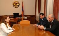 Встреча с министром культуры Армении Лилит Макунц