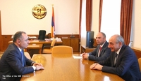 Meeting with Armenian minister of transport, communication and information technologies