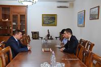 Գրիգորի Մարտիրոսյանն ընդունել է ՀՀ պաշտպանության փոխնախարար Գաբրիել Բալայանին