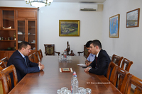 G. Martirosyan received RA deputy defense minister Gabriel Balayan