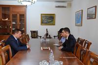 Григорий Мартиросян принял заместителя министра обороны РА Габриела Балаяна