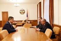 Meeting with director of the Armenian National Security Service Arthur Vanetsyan