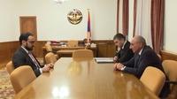 Հանդիպում ՀՀ փոխվարչապետ Տիգրան Ավինյանի հետ