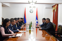 State Minister Martirosyan received the delegation headed by the RA vice premier Tigran Avinyan