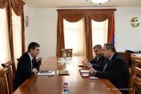 Պետնախարար Մարտիրոսյանն ընդունել է Արցախում ԿԽՄԿ առաքելության նոր ղեկավարին
