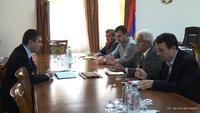 Պետնախարար Մարտիրոսյանն ընդունել է Հարություն Արմենյանի գլխավորած պատվիրակությանը