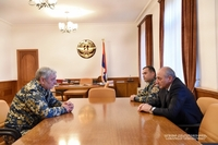 Հանդիպում ՀՀ արտակարգ իրավիճակների նախարարի պաշտոնակատար Ֆելիքս Ցոլակյանի հետ