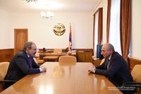 Հանդիպում ՀՀ վարչապետի պաշտոնակատար Նիկոլ Փաշինյանի հետ