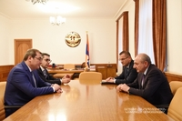 Meeting with chairman of the Armenian State Revenue Committee Davit Ananyan