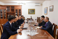 State Minister met with the representatives of the investment company registered in the EU