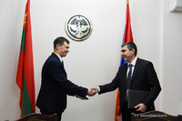 Trade representations will be established in Stepanakert and Tiraspol. State Minister Martirosyan and Deputy Prime Minister Tsurkan signed an agreement