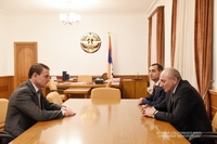Meeting with Chief of the Police of the Republic of Armenia Valeriy Osipyan