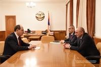 Meeting with deputy foreign minister of the Republic of Armenia Shavarsh Kocharyan