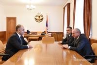 Встреча с исполняющим обязанности министра сельского хозяйства РА Гегамом Геворкяном