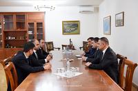 Государственный министр принял делегацию, возглавляемую исполняющим обязанности министра сельского хозяйства  РА