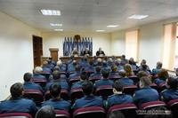 Президент посетил Государственную службу по чрезвычайным ситуациям Республики Арцах