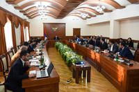 Госминистр Мартиросян  провел расширенное заседание правительственной комиссии