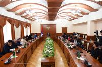 Состоялось итоговая годовая пресс-конференция государственного министра Мартиросяна
