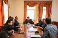 Պետական նախարար Գրիգորի Մարտիրոսյանն աշխատանքային խորհրդակցություն է հրավիրել