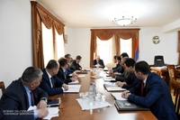 Consultation with the participation of heads of the regional administrations and the Mayor of Stepanakert
