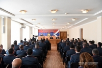 President Sahakyan partook at the reporting meeting of the Police Board