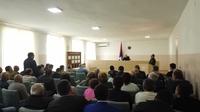 Рабочее совещание с руководством Мартунинской райадминистрации