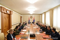 Joint meeting of the Armenian and Artsakh Security Councils