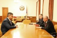 Встреча с директором СНБ Армении Артуром Ванецяном